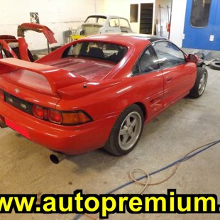Repainted Toyota MR2